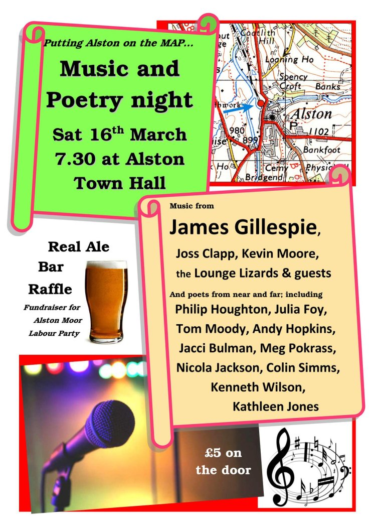 Jazz and Poetry March 16th 2019